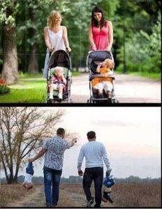 mamme e papà, due modi diversi di vivere il parenting